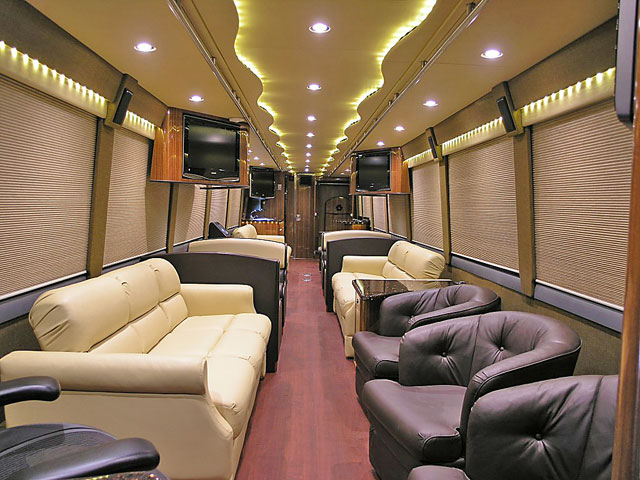 The gallery for --> Inside Celebrity Tour Buses